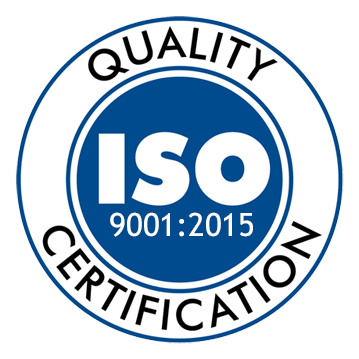 Customer service commitment ISO certified ISO 9001:2008