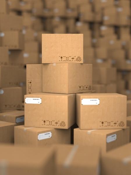 Stacks of Cardboard Boxes, Industrial Background1..jpg